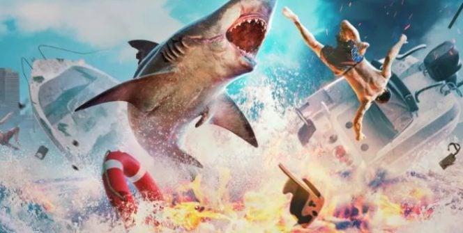 Negyedórányi gameplay videót láthatunk a Maneater című játékból: abból a rendhagyónak ígérkező akció-RPG-ből, amelyben egy vérszomjas cápát irányíthatunk.