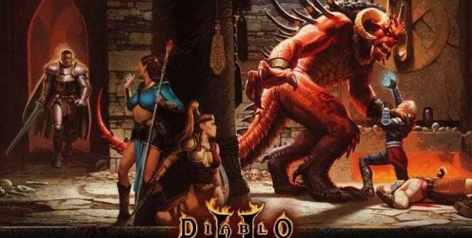 """Ez elképesztő: a Warcraft III: Reforged után újabb Blizzard-játékfelújítás: a Diablo II: Resurrected rajtáról is elmondhatjuk, hogy ezt a """"hóviharosok"""" megint elszúrták. Diablo II"""